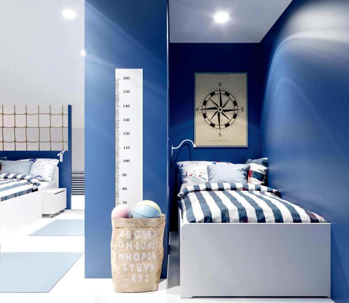 Детская мебель для комнаты мальчика проект 3351-6