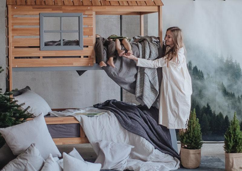 Детская мебель из дерева Mamka™ фото