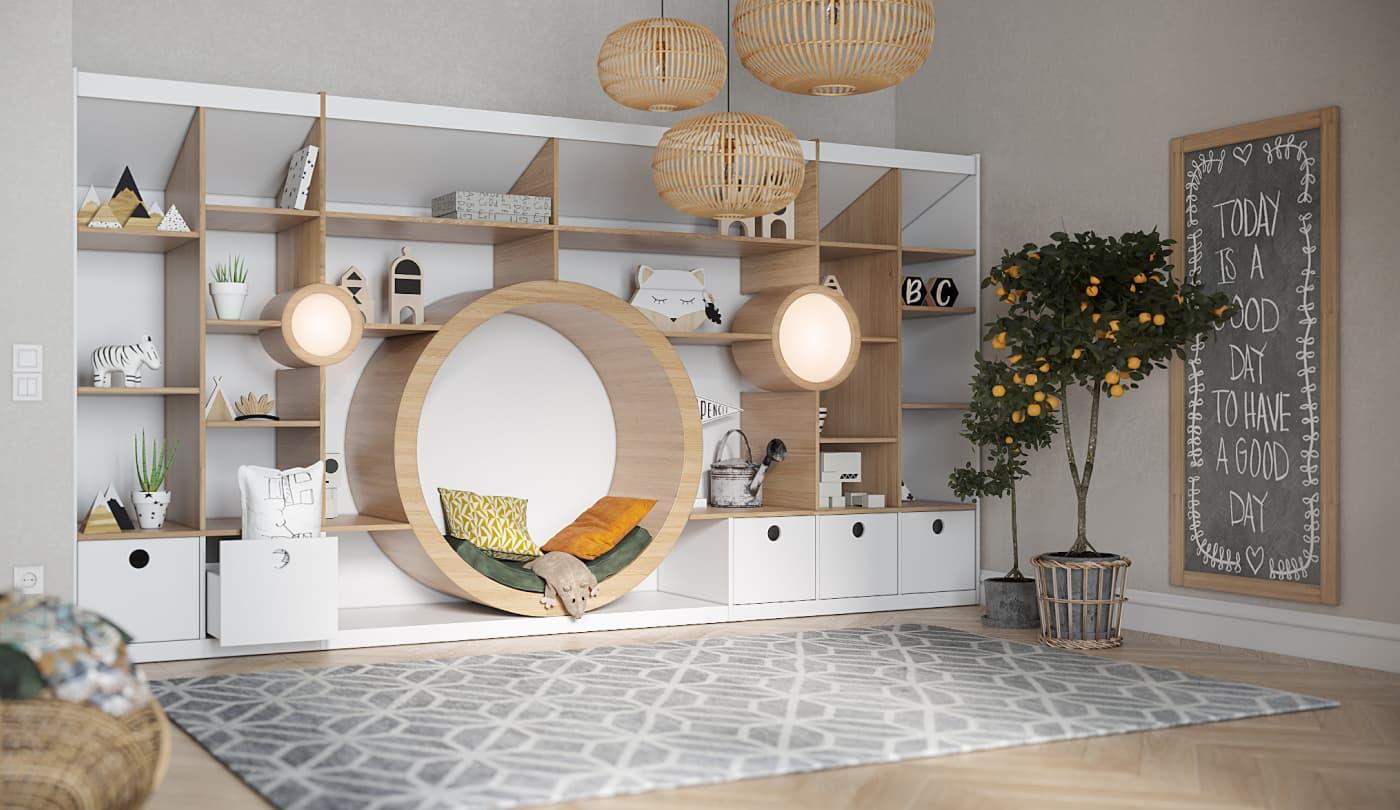 Детская мебель на заказ в Москве фото 2-1-1