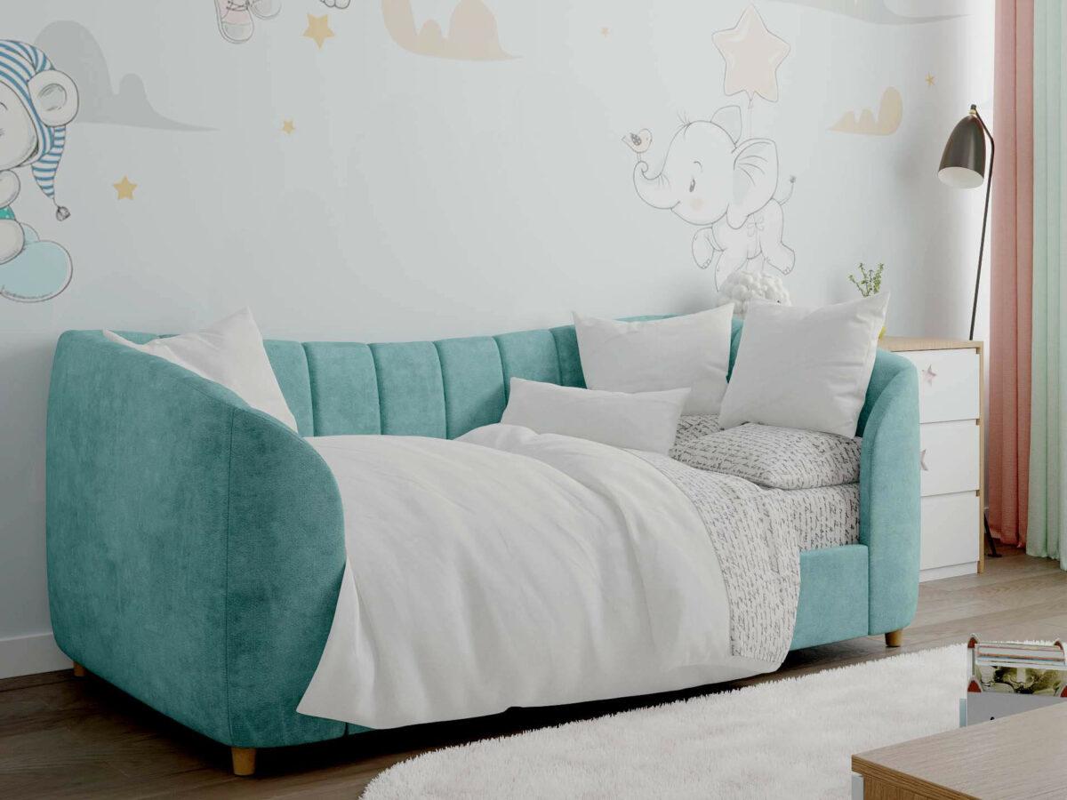Детская мебель в комнату девочки 1-5 лет проект 5325-2