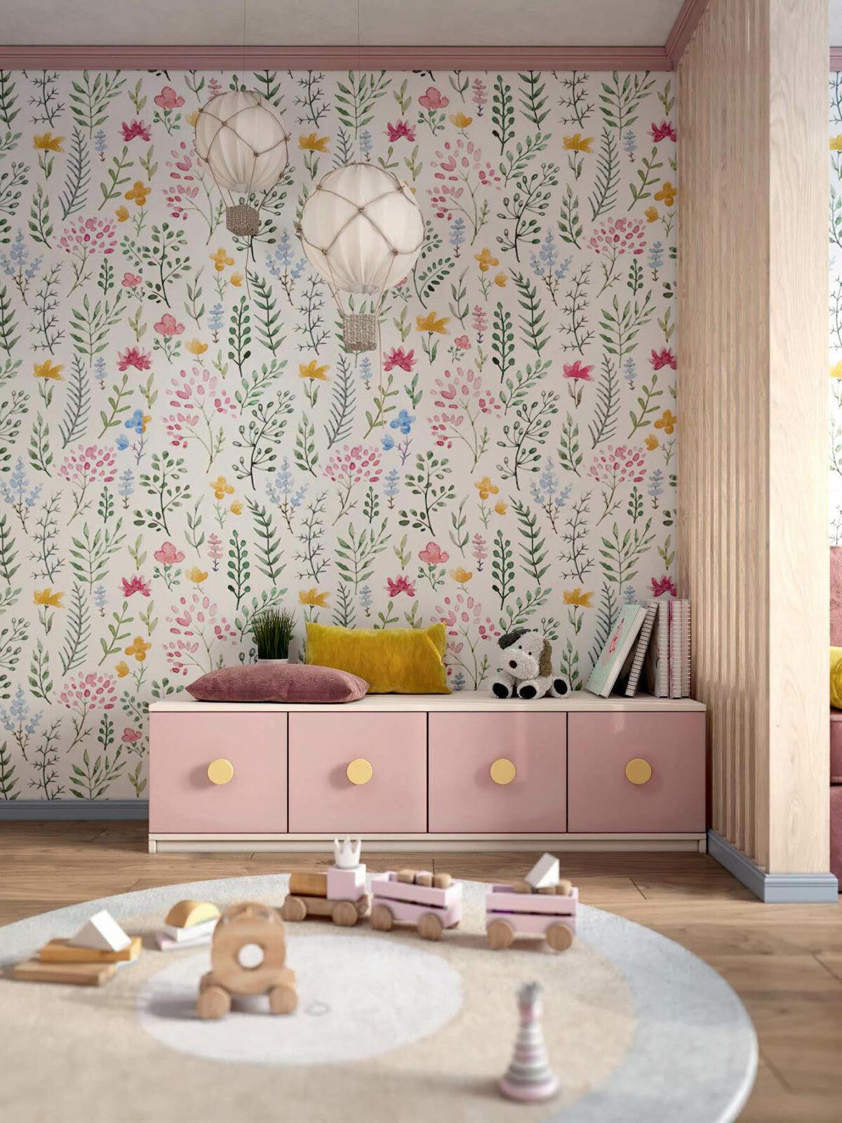 Детская мебель в комнату девочки проект 3983-7