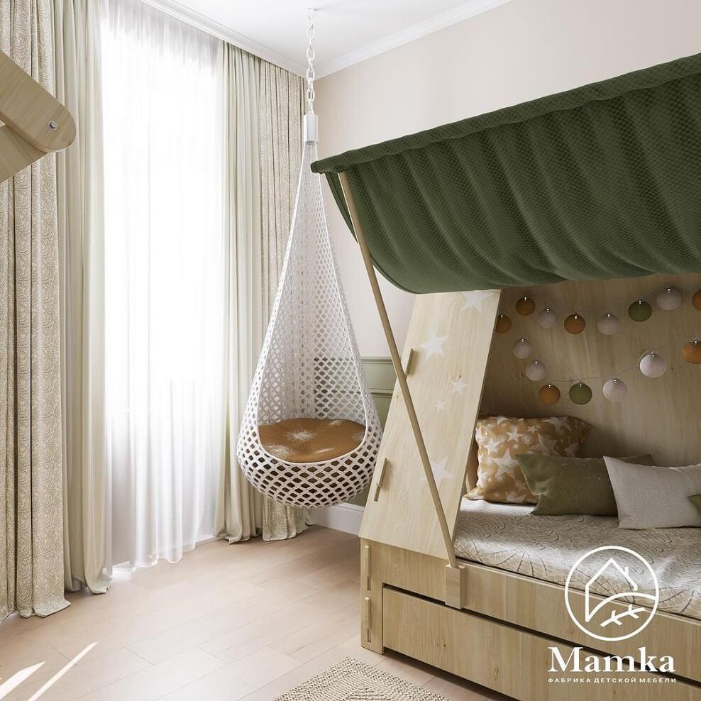 Дизайн детской комнаты для дошкольника 10