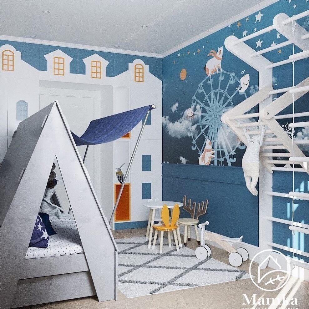 Дизайн детской комнаты для дошкольника 3