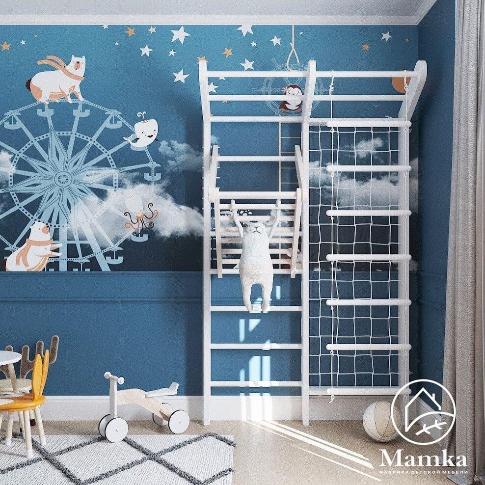 Дизайн детской комнаты для дошкольника 4
