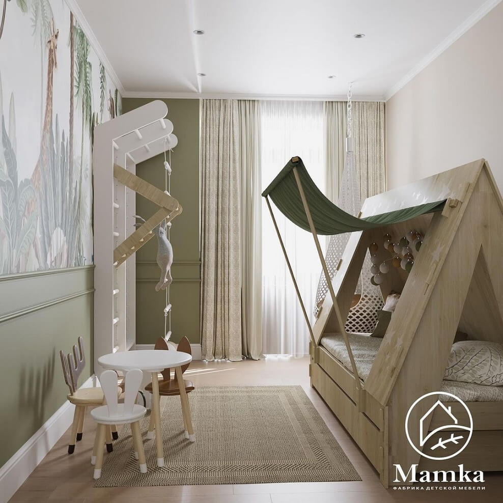 Дизайн детской комнаты для дошкольника 5