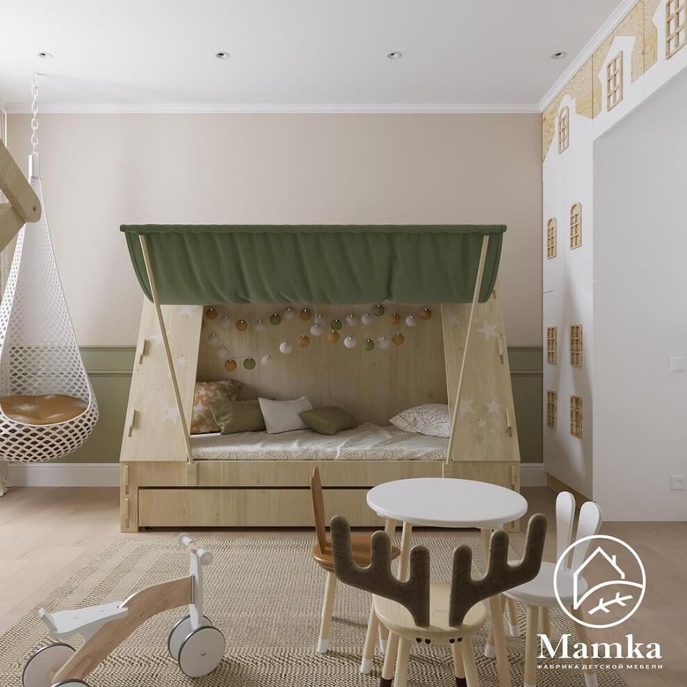 Дизайн детской комнаты для дошкольника 6