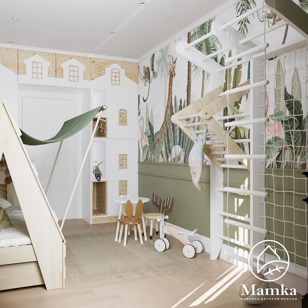 Дизайн детской комнаты для дошкольника 7