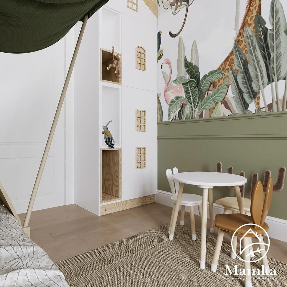 Дизайн детской комнаты для дошкольника 9