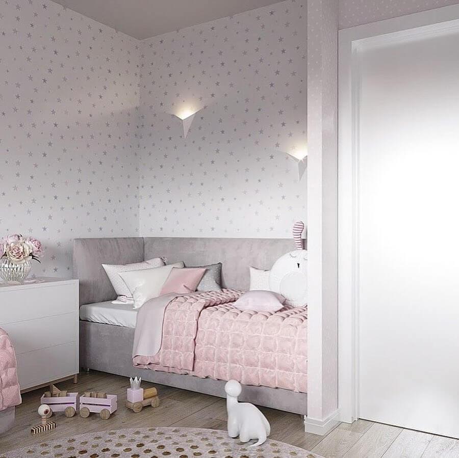 Дизайн детской комнаты для двух сестер 1