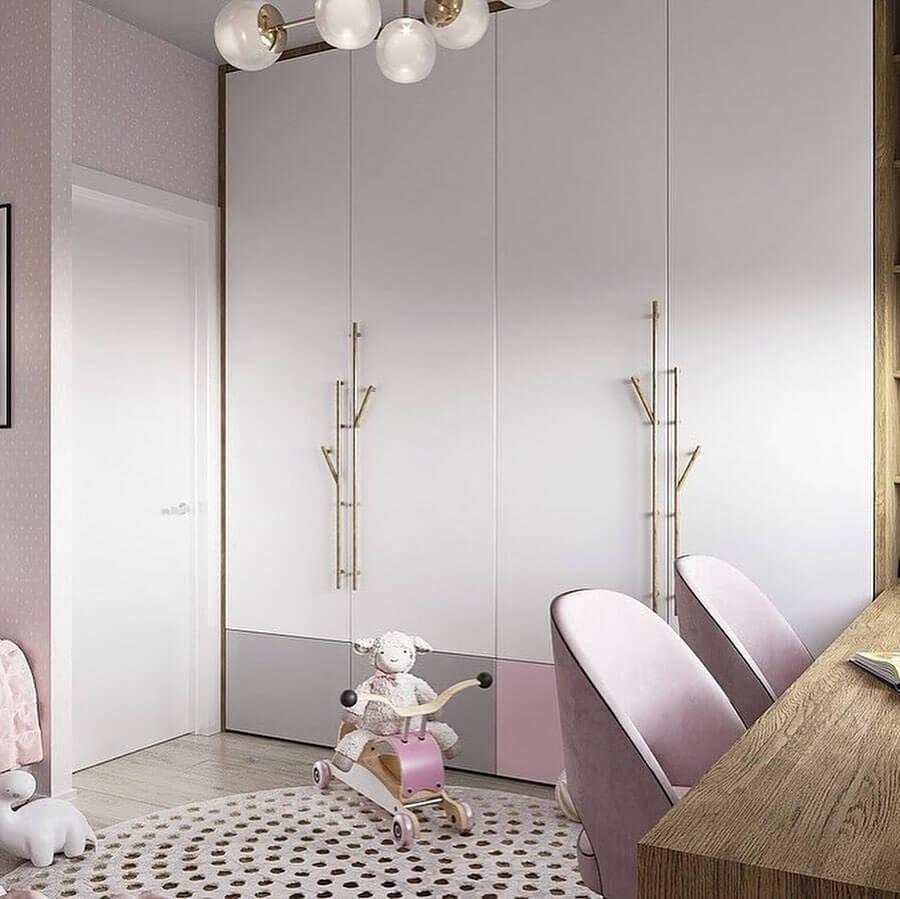 Дизайн детской комнаты для двух сестер 4