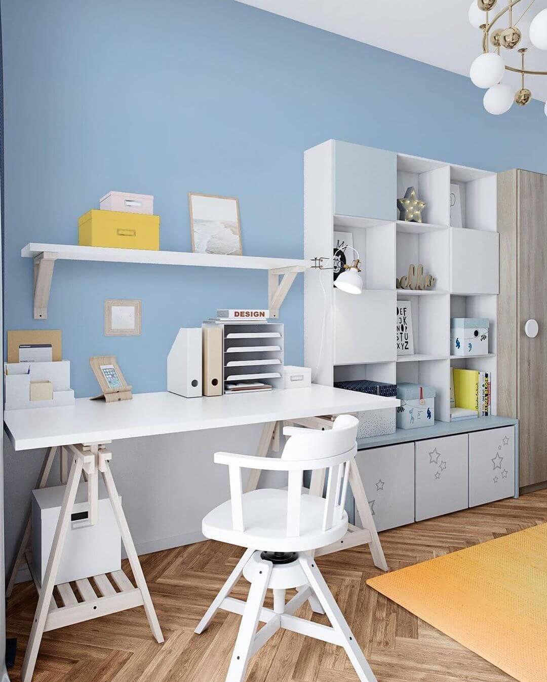 Дизайн детской комнаты для школьника 3