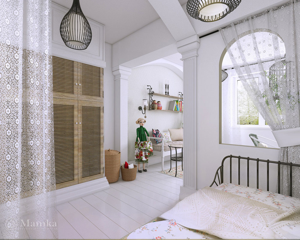Дизайн интерьера детской спальни для девочки - фотоДизайн интерьера детской спальни для девочки