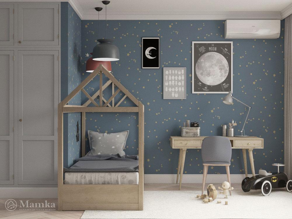Красивый дизайн детской спальни для игр и отдыха 2