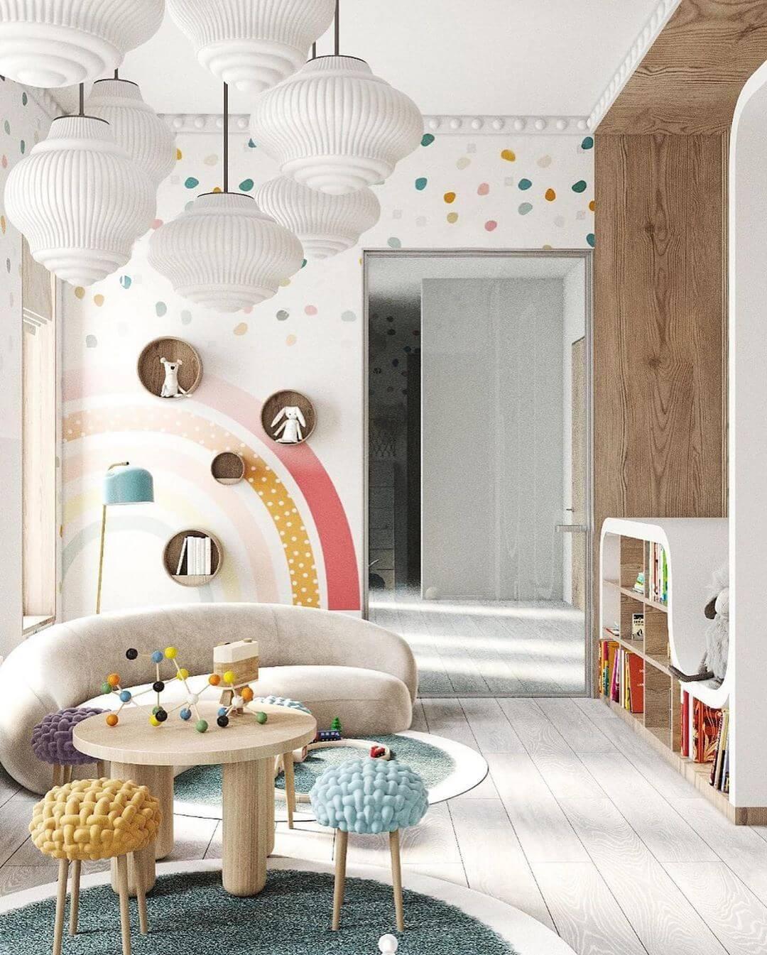 Дизайн интерьера игровой комнаты 1