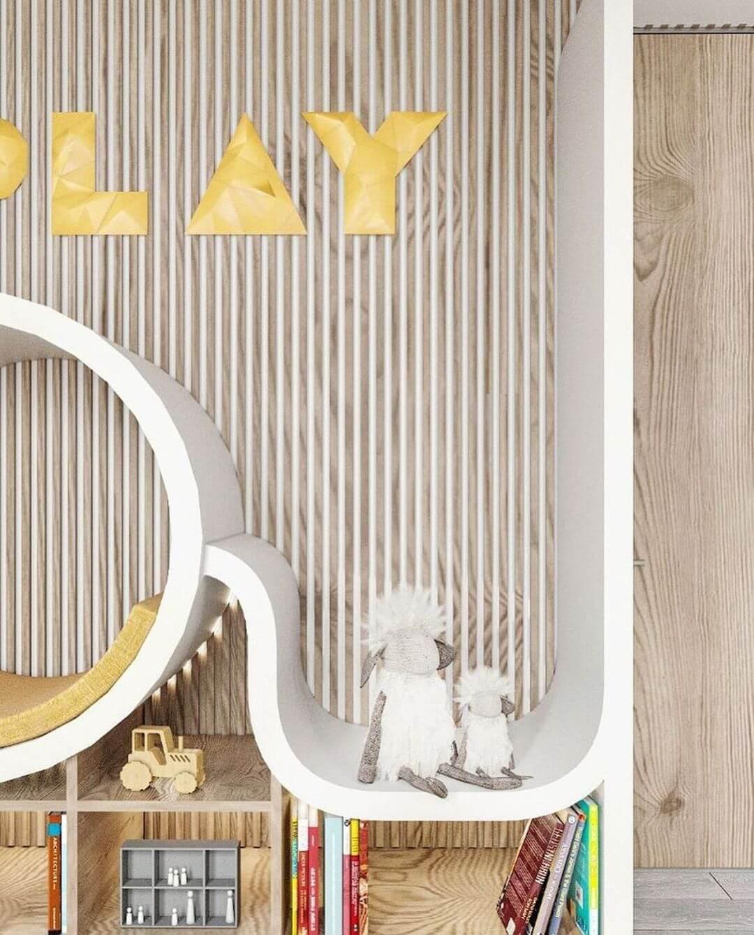 Дизайн интерьера игровой комнаты 10
