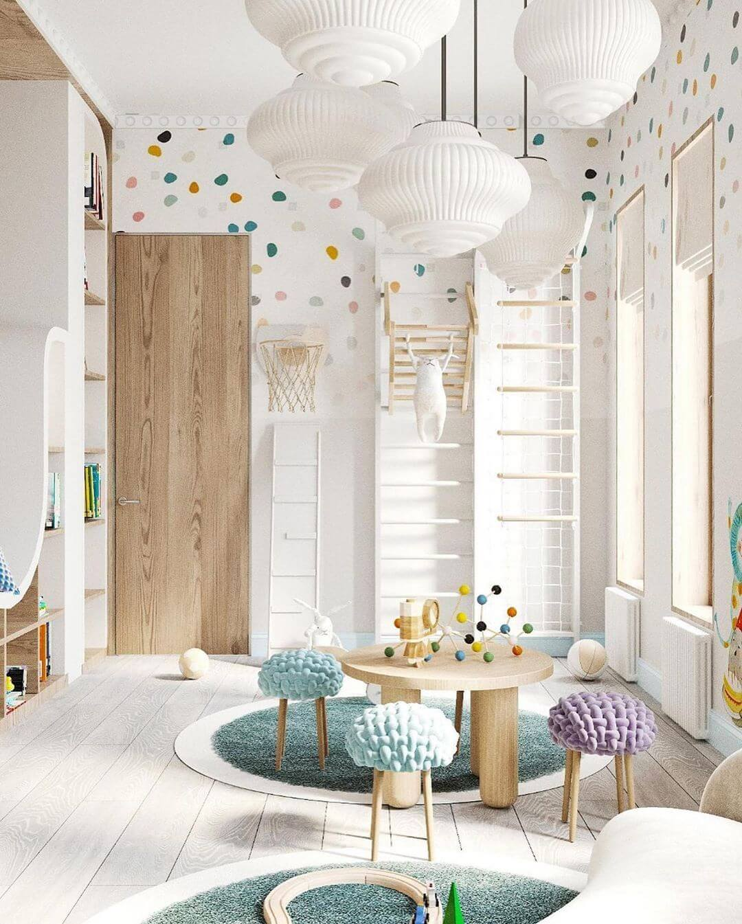 Дизайн интерьера игровой комнаты 3