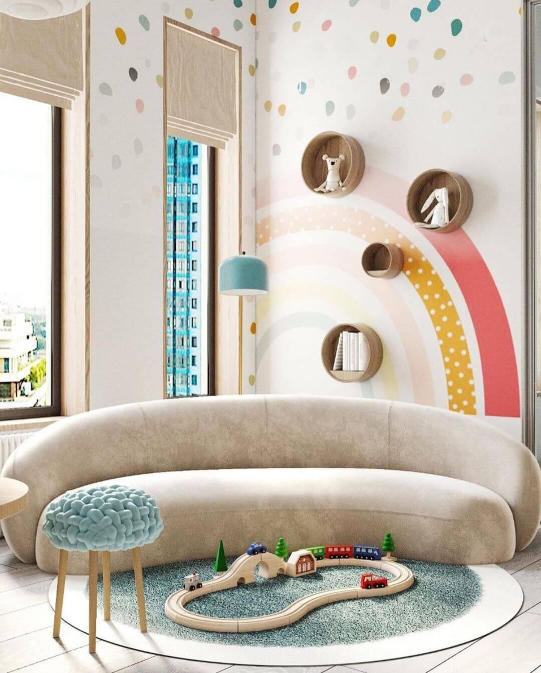 Дизайн интерьера игровой комнаты 5