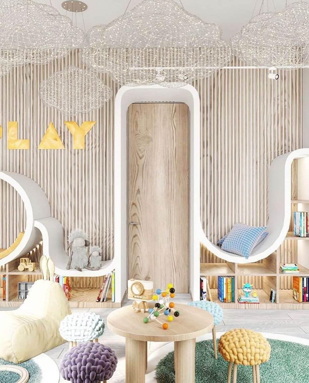 Дизайн интерьера игровой комнаты 7