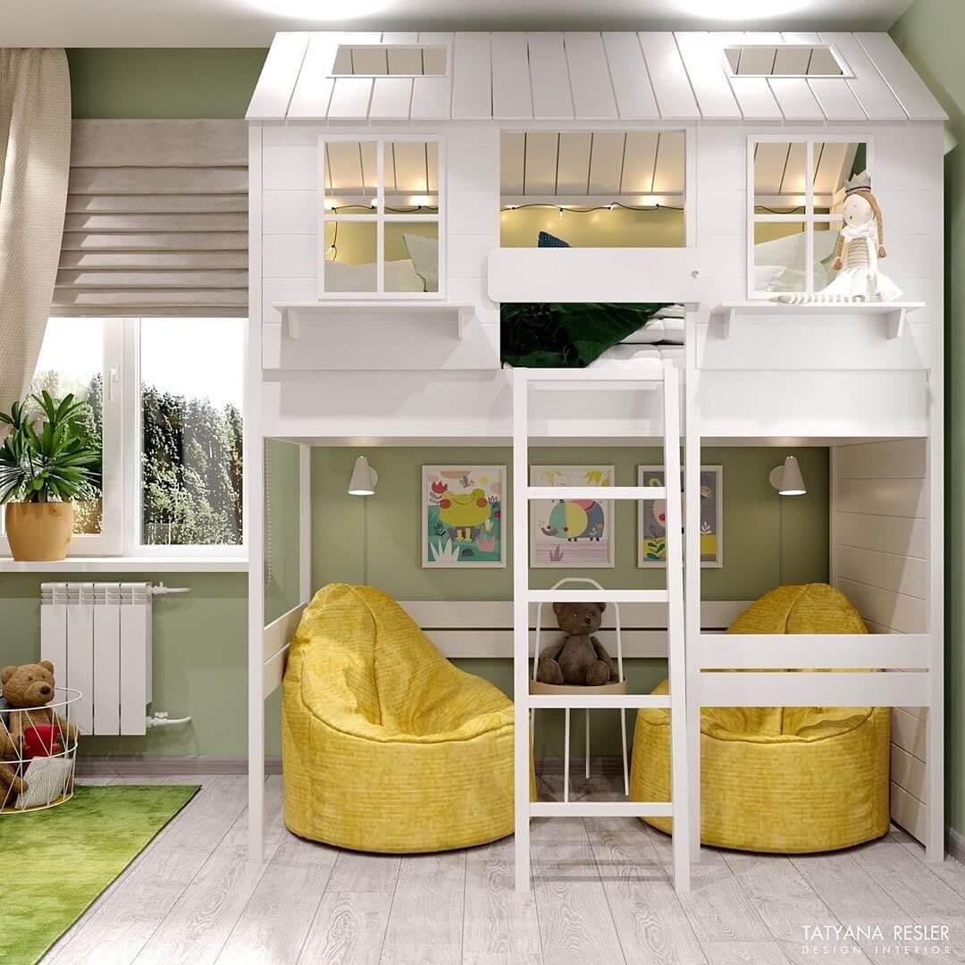 Дизайн интерьера спальни для девочки 2