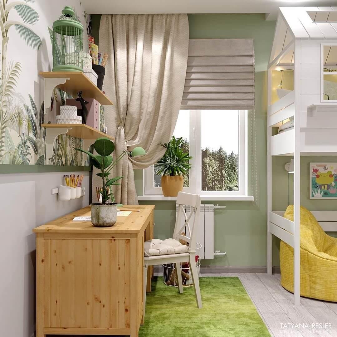 Дизайн интерьера спальни для девочки 3