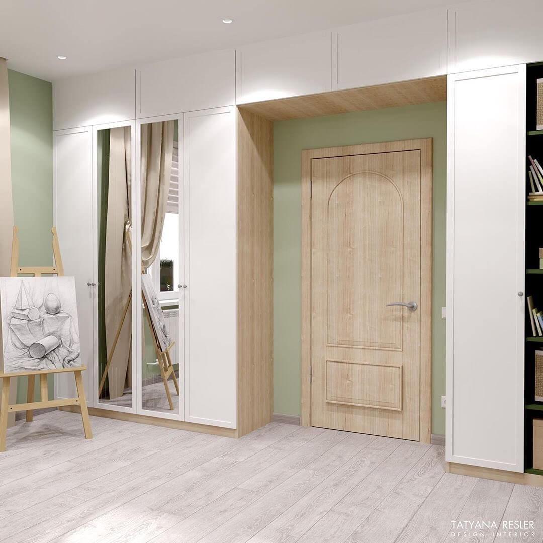 Дизайн интерьера спальни для девочки 5