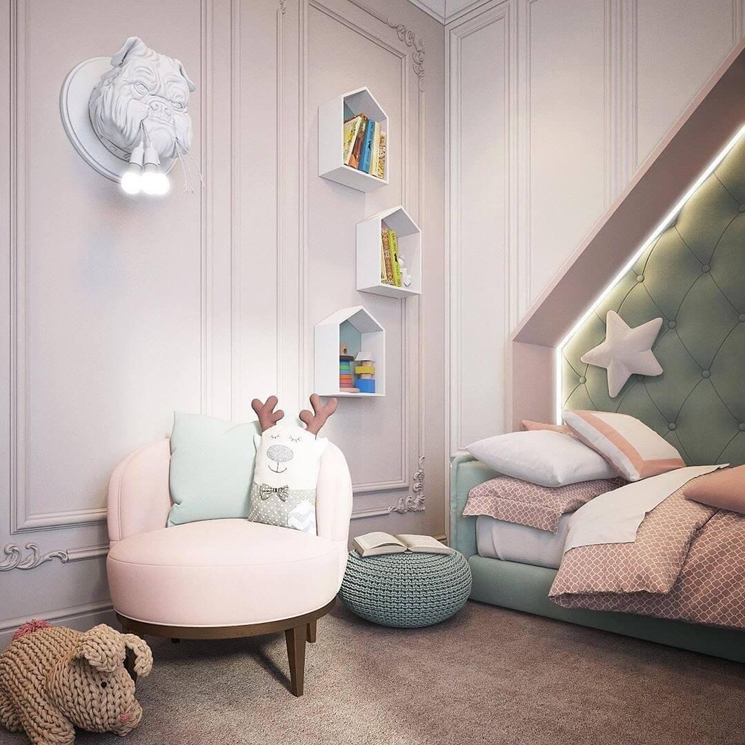 Дизайн комнаты для девочки 3