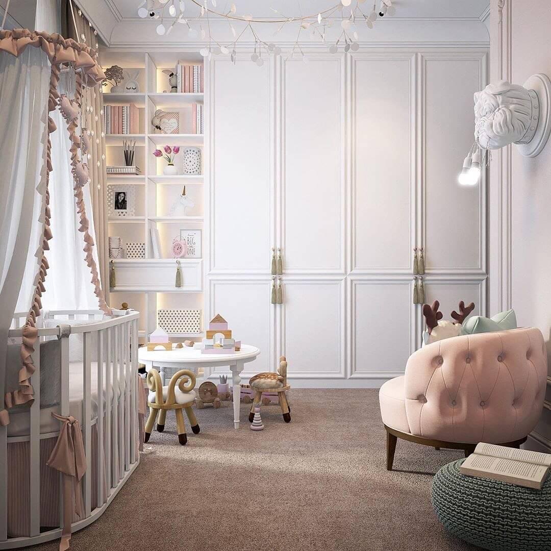 Дизайн комнаты для девочки 4