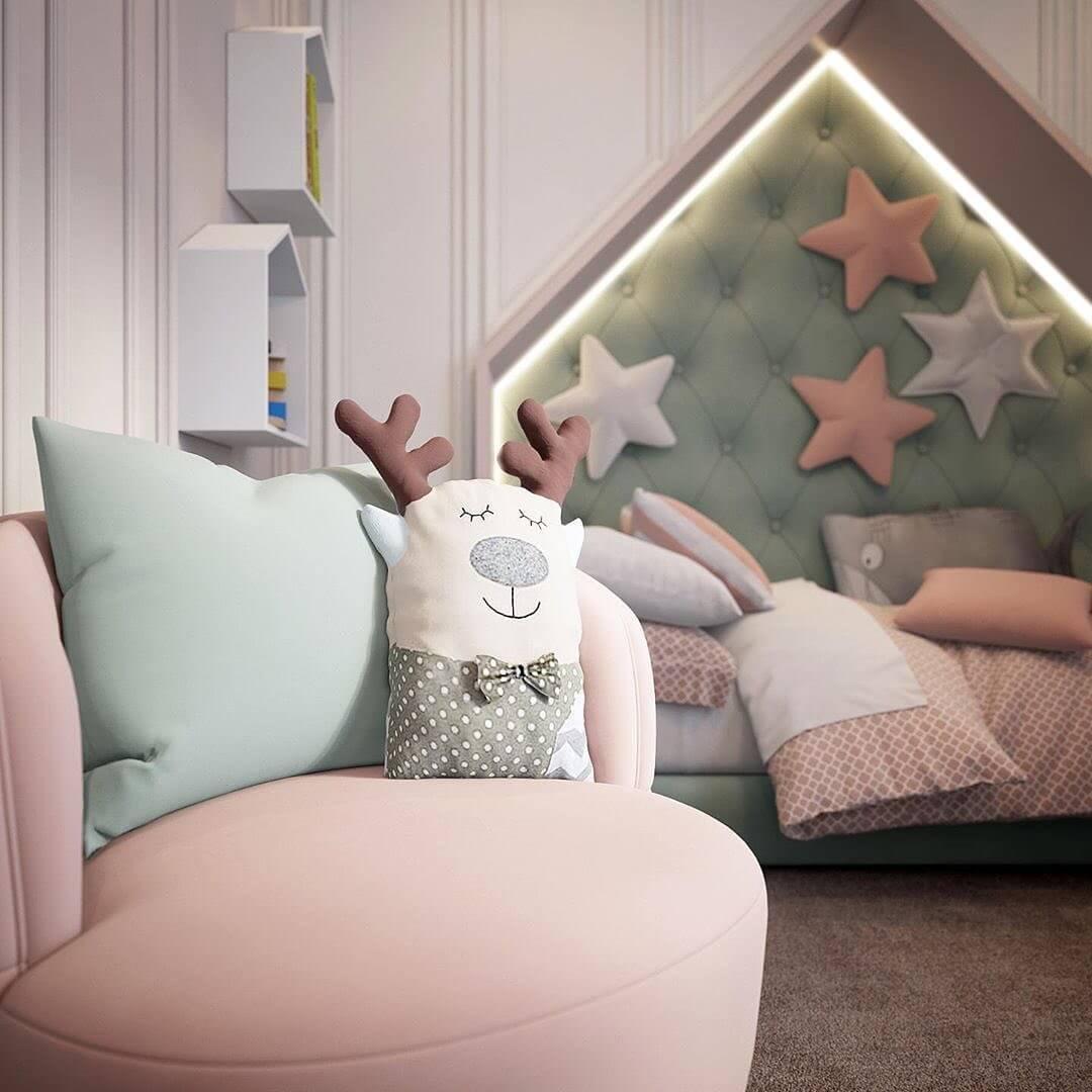 Дизайн комнаты для девочки 6
