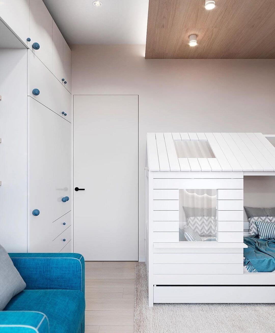 Дизайн комнаты для дошкольника 4