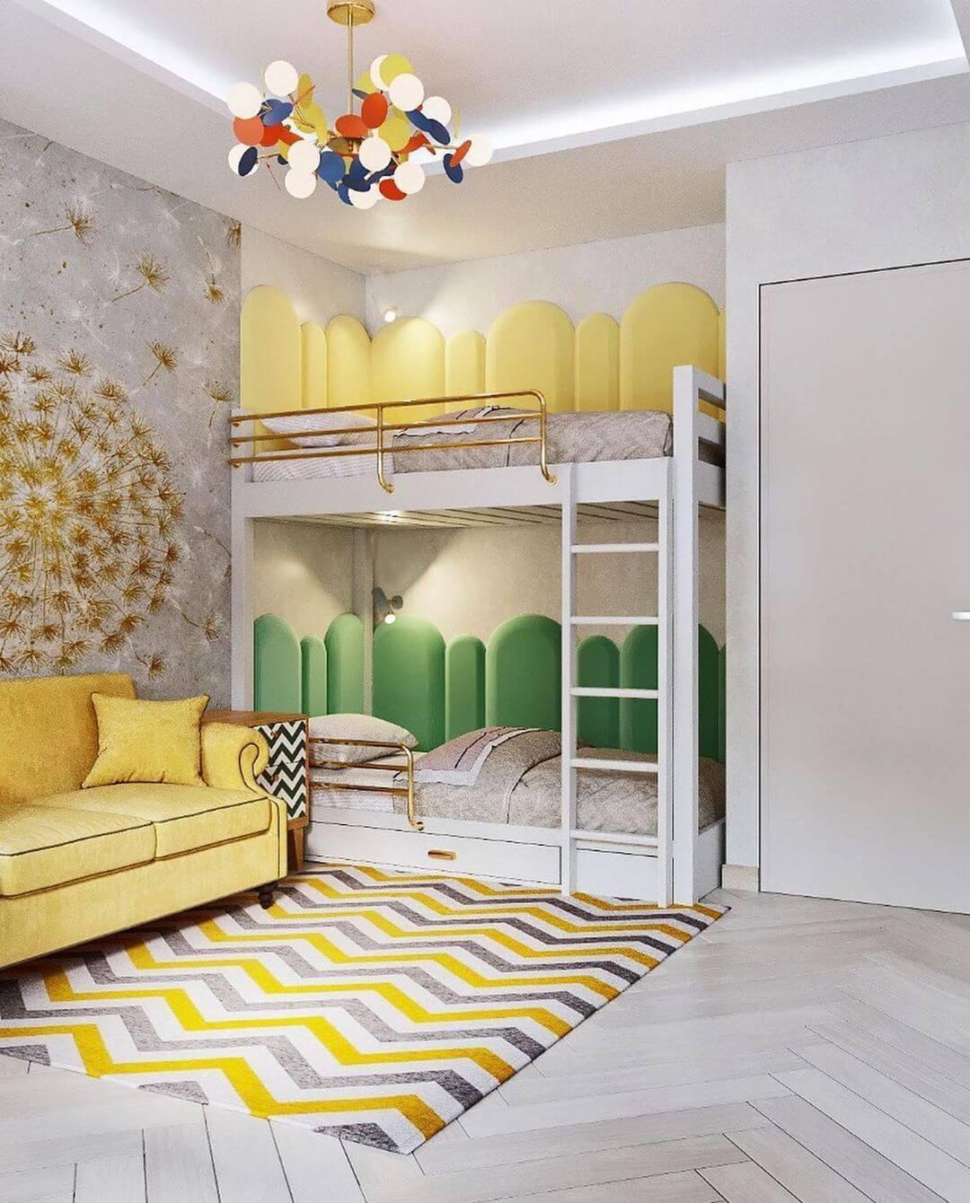Дизайн комнаты для двоих детей-подростков 1