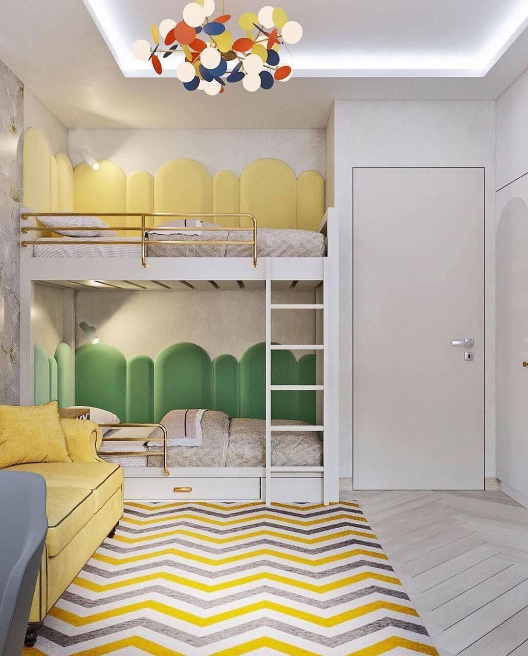 Дизайн комнаты для двоих детей-подростков 2