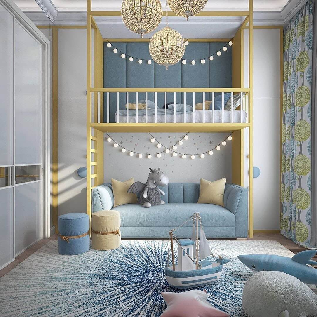 Дизайн комнаты для мальчика-школьника 1