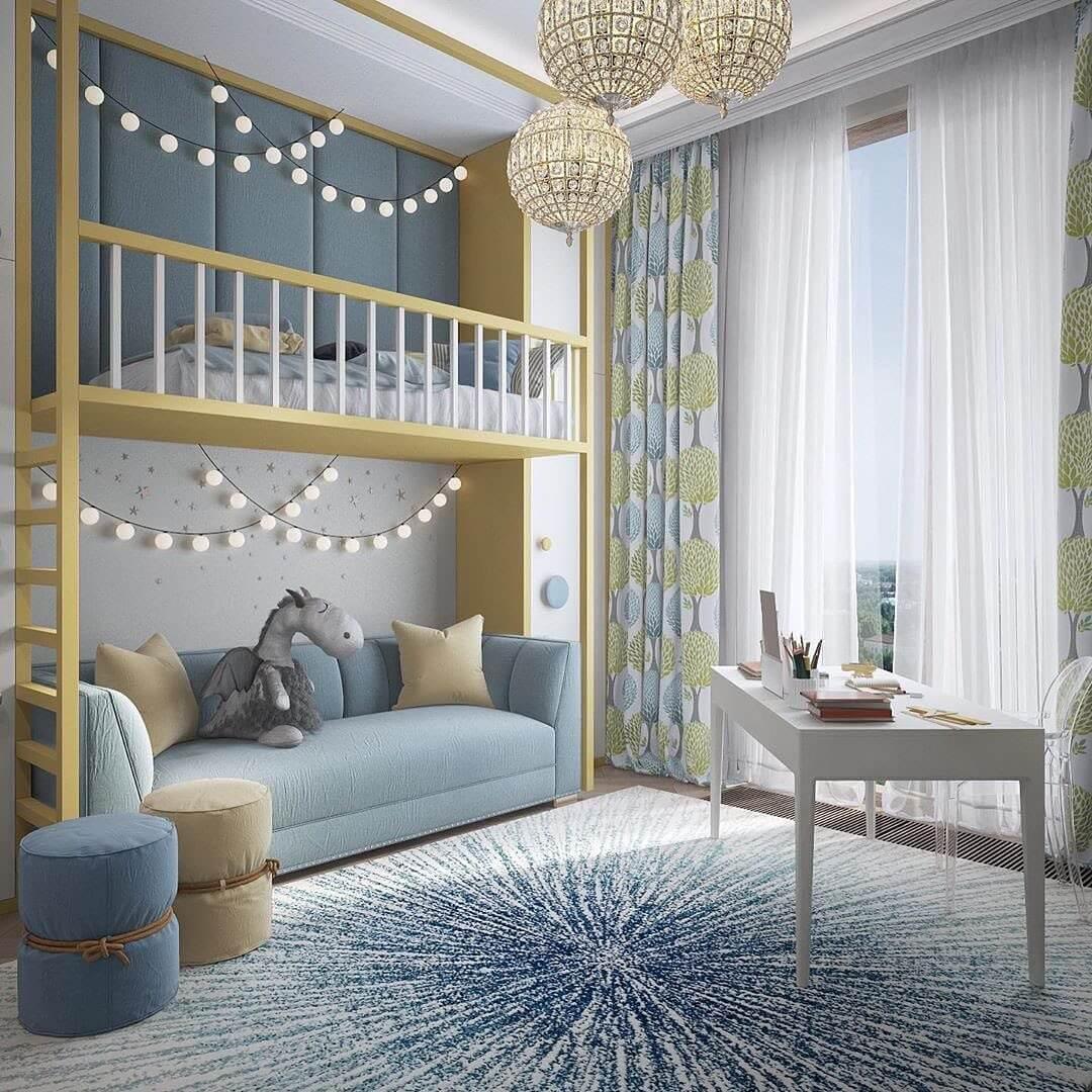 Дизайн комнаты для мальчика-школьника 2