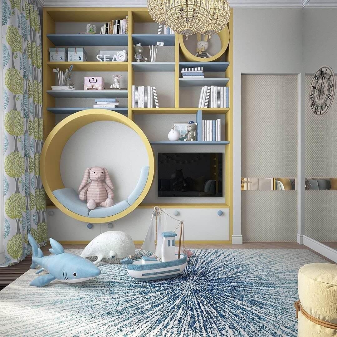 Дизайн комнаты для мальчика-школьника 3