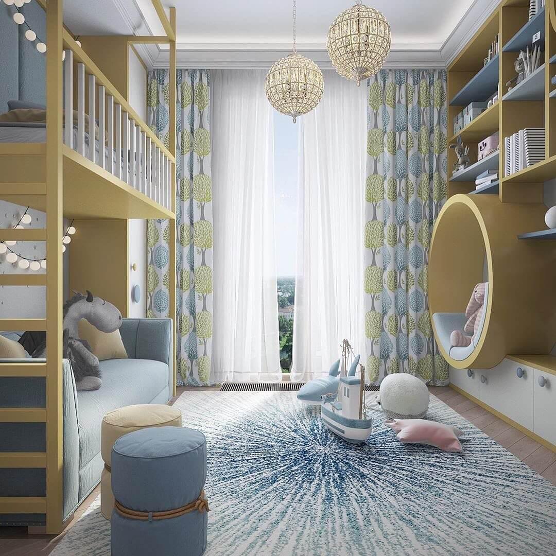 Дизайн комнаты для мальчика-школьника 4