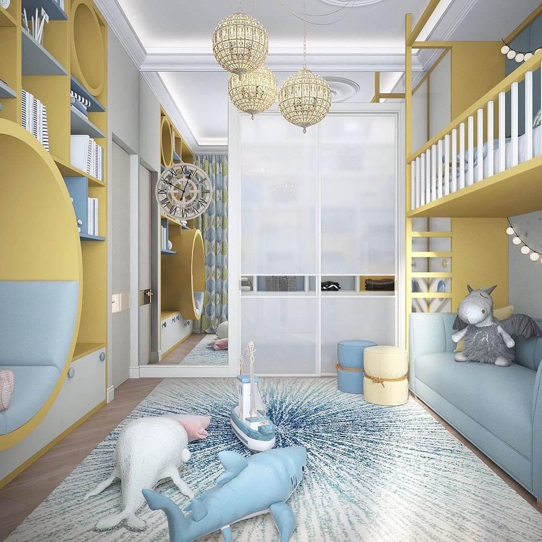 Дизайн комнаты для мальчика-школьника 5