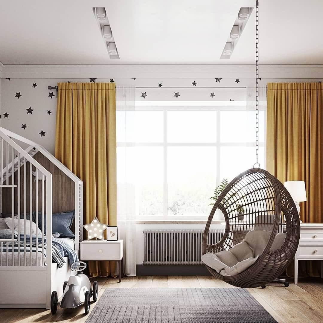 Дизайн комнаты для мальчиков и девочек 2