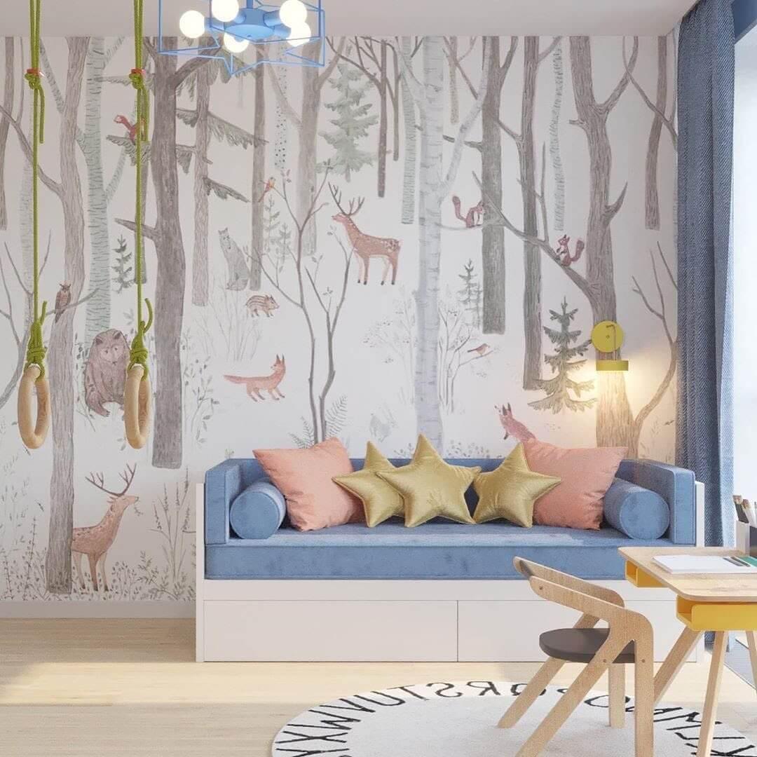 Дизайн-проект комнаты для мальчика 1