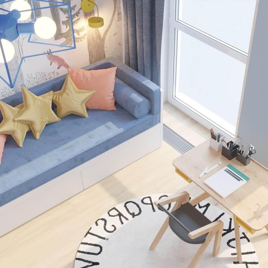Дизайн-проект комнаты для мальчика 2