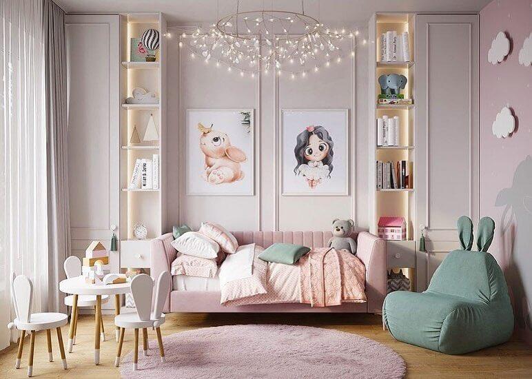 Дизайн проект комнаты для подрастающей девочки 1