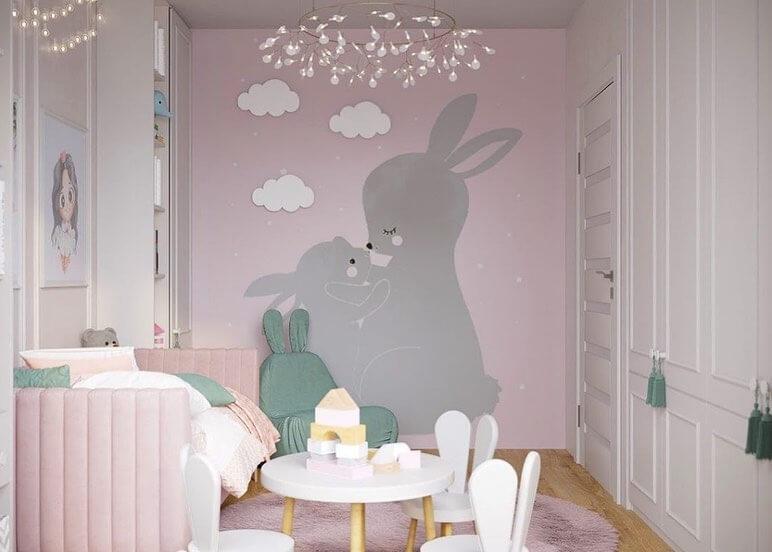 Дизайн проект комнаты для подрастающей девочки 2