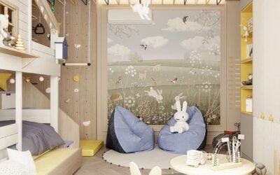 Современная детская комната — место для открытий и бесконечных игр