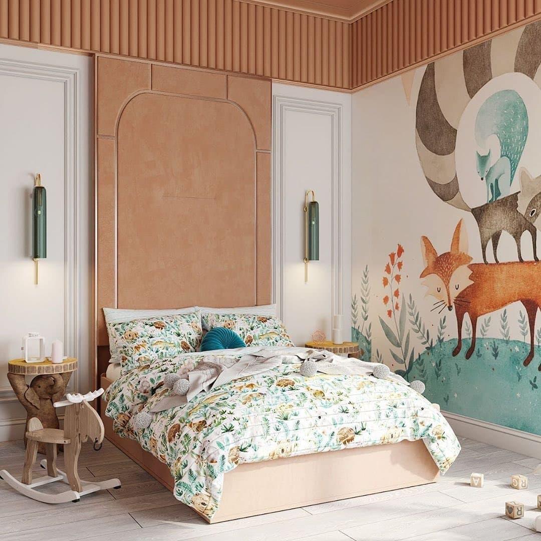 Дизайн-проект небольшой детской спальни 2