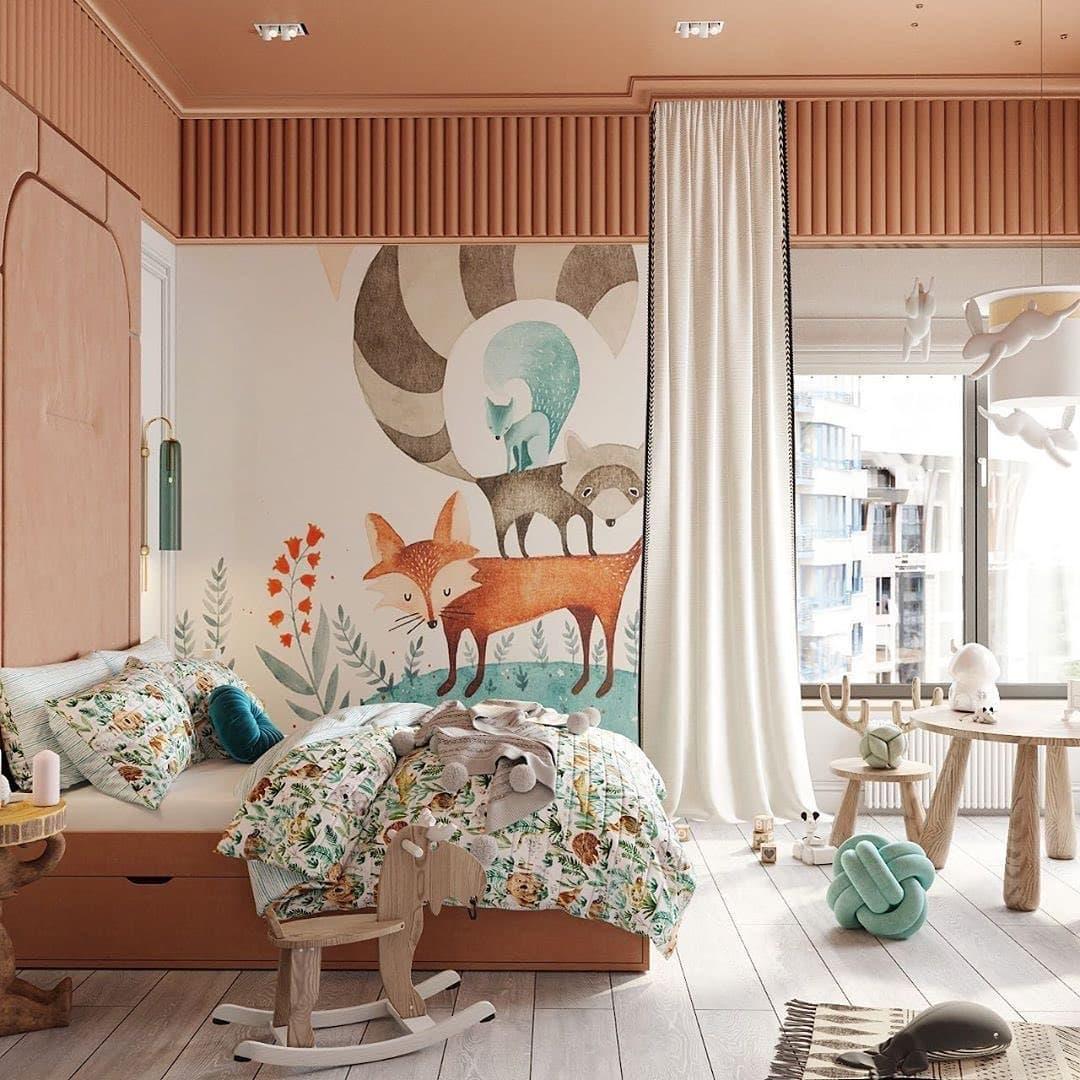 Дизайн-проект небольшой детской спальни 3