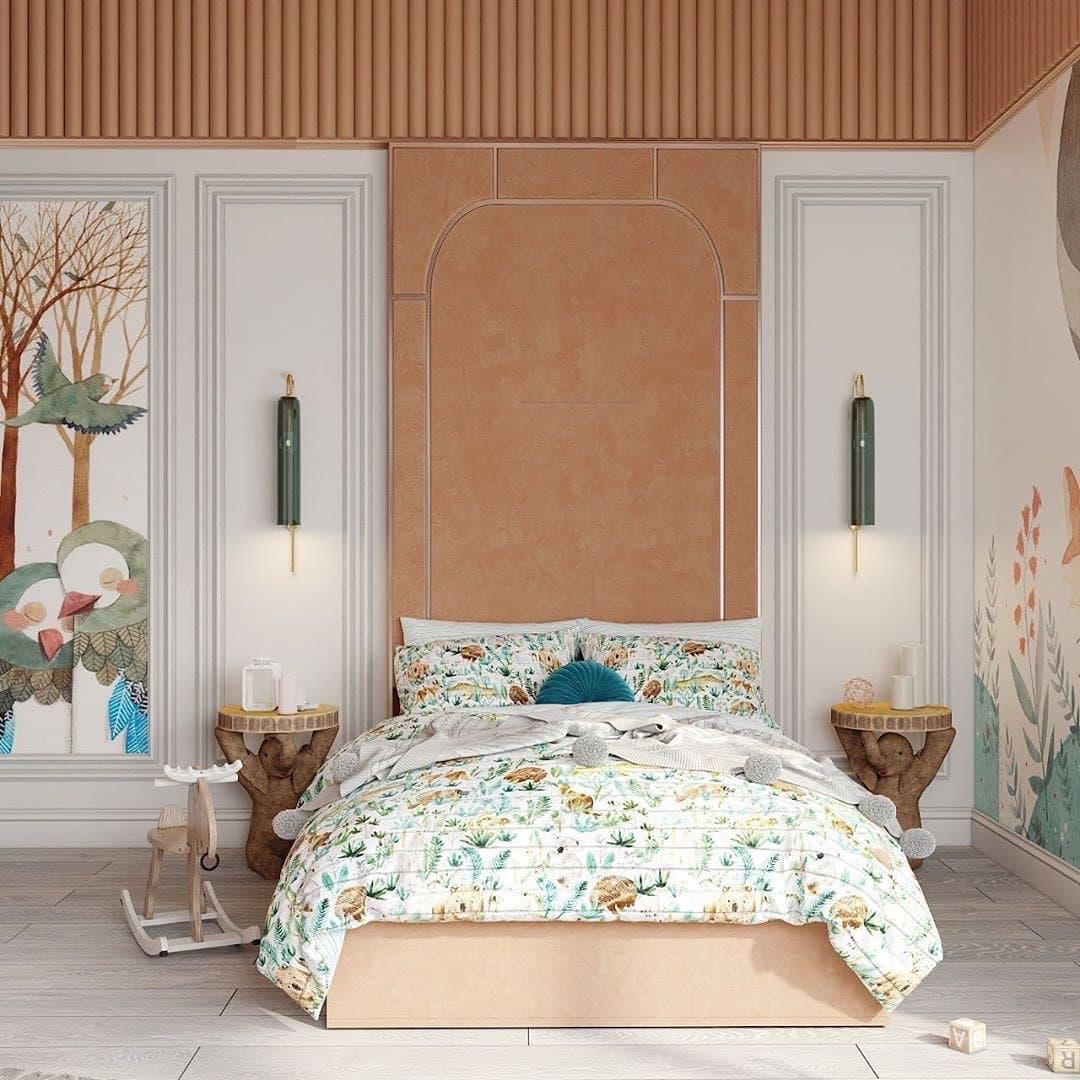 Дизайн-проект небольшой детской спальни 4