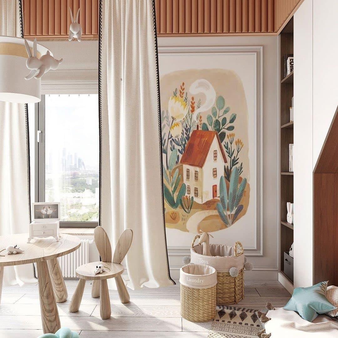 Дизайн-проект небольшой детской спальни 5