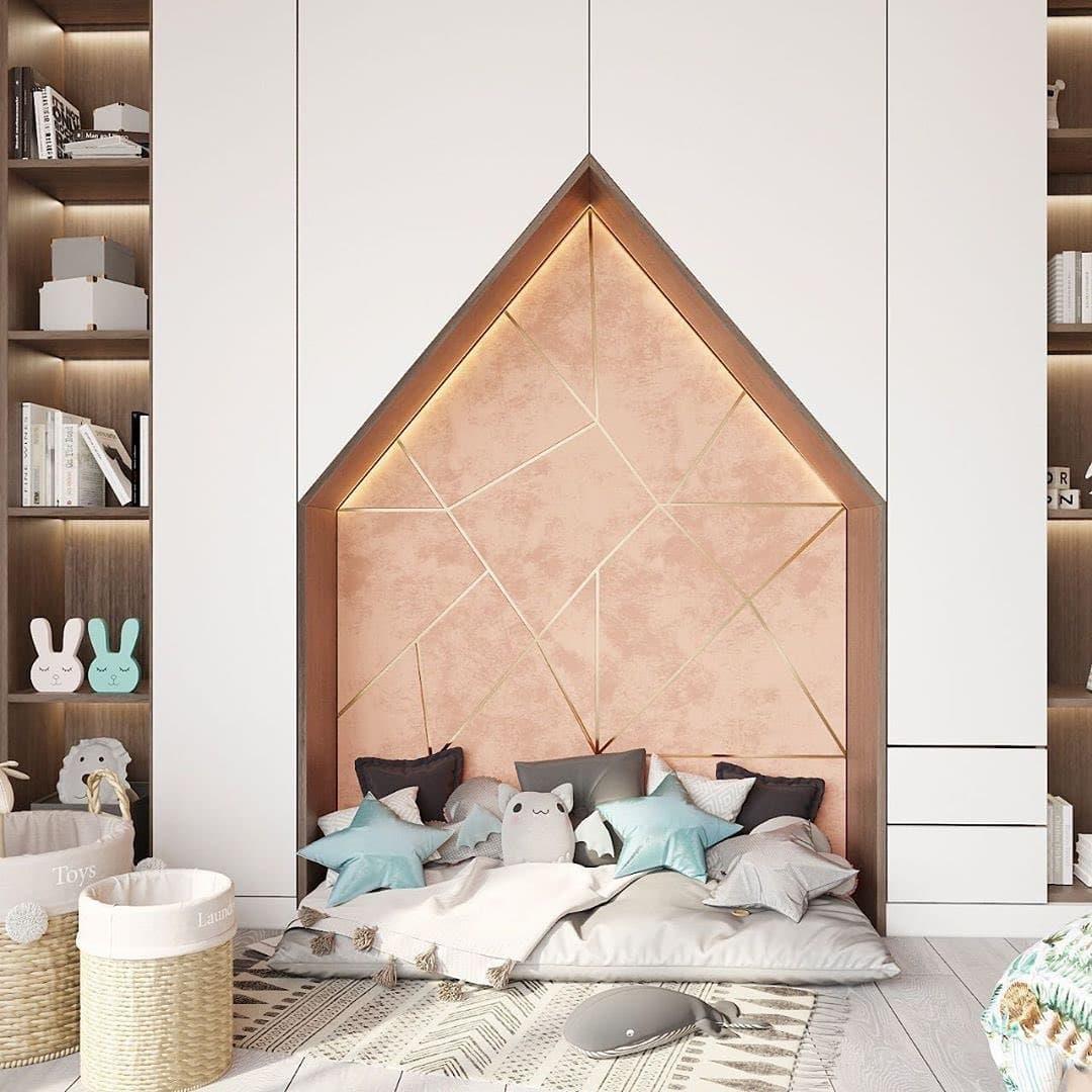 Дизайн-проект небольшой детской спальни 7