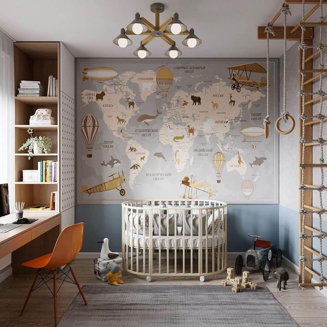 Дизайн-проект спальни для дошкольника 1