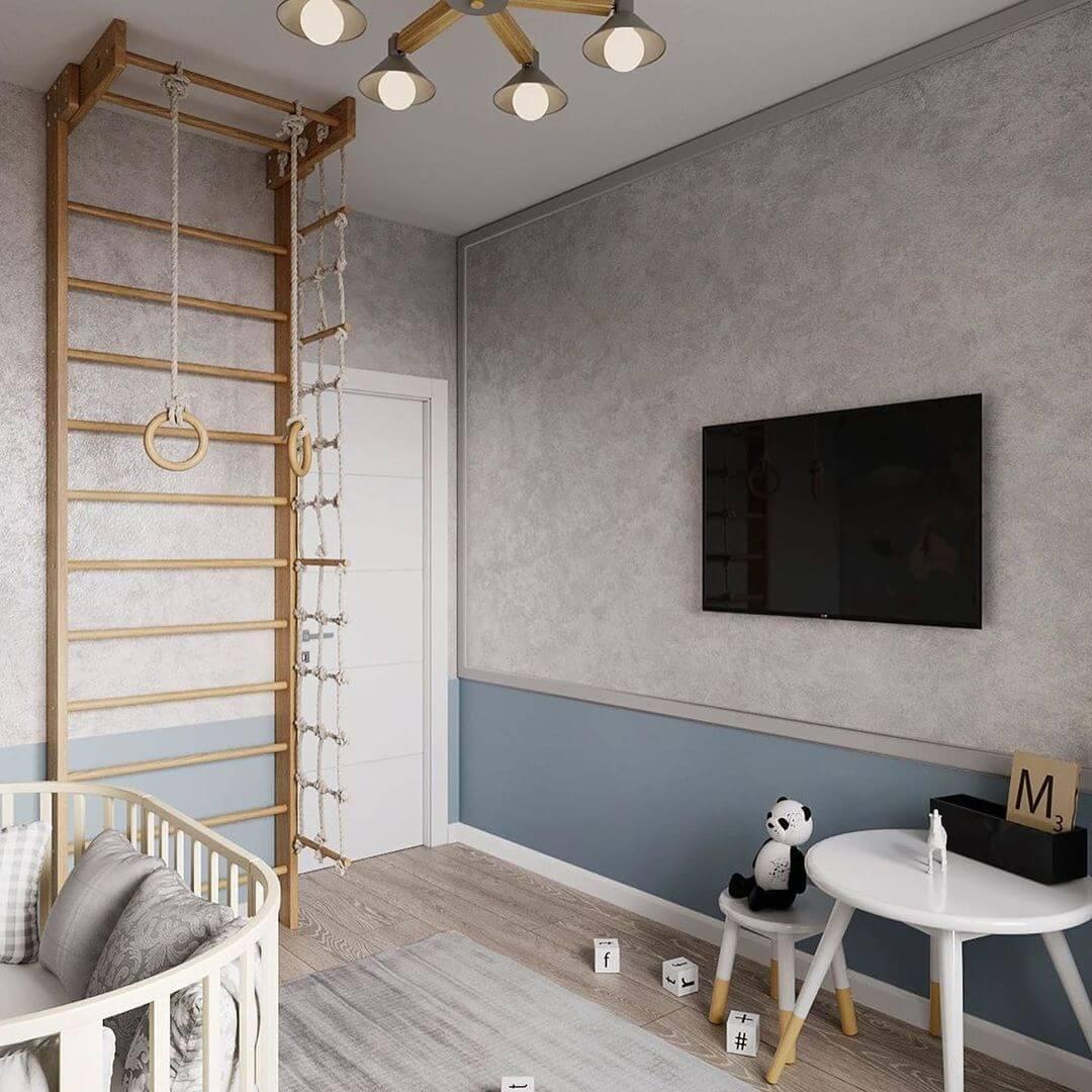 Дизайн-проект спальни для дошкольника 4