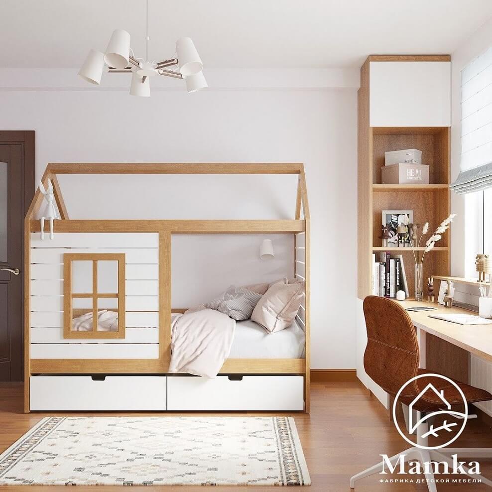 Дизайн-проект спальни для школьника-подростка 1